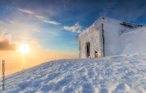 Fotografie, Tablou church in winter
