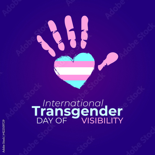 Fényképezés International Transgender Day of Visibility