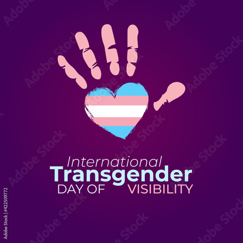 International Transgender Day of Visibility Tapéta, Fotótapéta