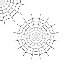 Set Icon Spider Web, Corner Spiderweb. Cobweb Cartoon. Graphic Black Corner Net Isolated On White Background. Silhouette Line Spider Web. Sketch Cobweb. Flat Pattern Net. Circle Outline Design. Vector