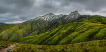 Snow In The Outeniqua Mountains, Close To The Top Of The Montagu Pass, George