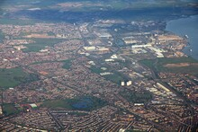 Dagenham UK Aerial View