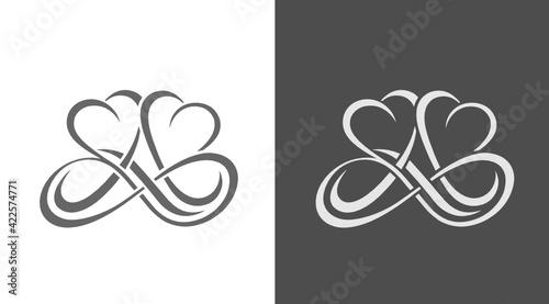 Simbolo amore infinito