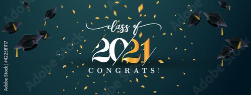 Foto Class of 2021 with graduation cap