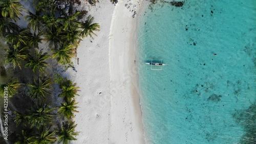 Fototapeta Aerial view from Palawan, Philipines - created by dji camera obraz na płótnie