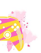 Gamepad Xbox One Yellow