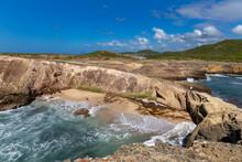 The Petrification Savannah (La Savane Des Petrifications) Waterfront, Sainte-Anne, Martinique, French Antilles