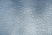 Silver Metal Pebble Surface