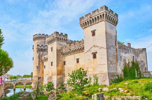 Fotografering Chatea de Roi Rene (Castle of King Rene), Tarascon, France