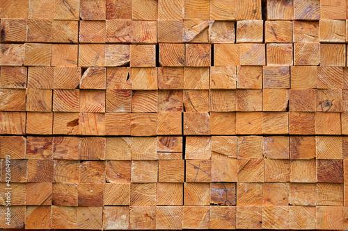 textura de madera con corte cuadrado