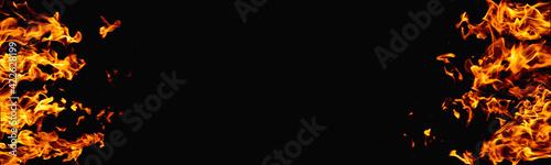 Fotografie, Obraz Fire banner