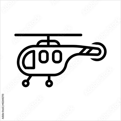 Papel de parede Helicopter Icon, Chopper Icon, Helicopter Flying Vehicle, Rotorcraft
