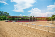 Accessories For Horse Trainings And Events In Rural Equestrian Training Centre