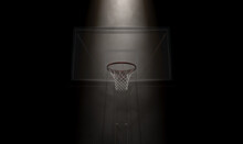 Basketball Hoop Spotlight