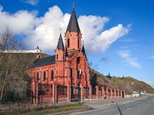 Roman Catholic (Polish) Church Of The Holy Trinity. Tobolsk. Tyumen Region. Russia