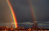 Fototapeta Rainbow - Koniec tęczy