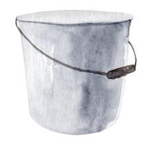 Watercolor Bucket
