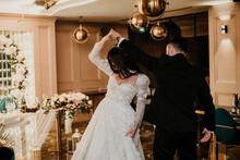 Wedding Details Essentials White Wedding Dress Dance