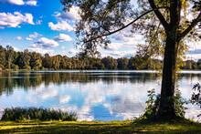 Lake In Bavaria Near Munich