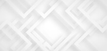 Grey White Abstract Background Geometry Shine And Layer Element Vector For Presentation Design. Suit For Business, Corporate, Institution, Party, Festive, Seminar, And Talks.