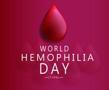 World Hemophilia Day Vector Illustration