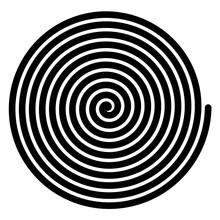 Spiral, Swirl, Twirl, Volute, Helix Shape Element