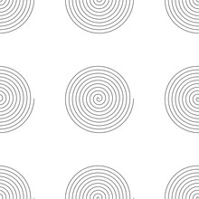 Repeatable Pattern With Spiral, Swirl, Twirl Shape