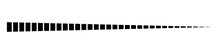 Horizontal Dashed, Segmented Lines Design Shape Element