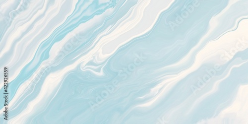Canvas abstract blue background with waves