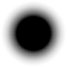 Circular Halftone, Screentone Element Made Of Squares. Squares Geometric Element, Icon