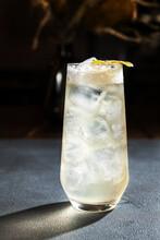 Iced Drink And Cut Kiwi