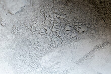 Gray Cement Powder Abstract Background