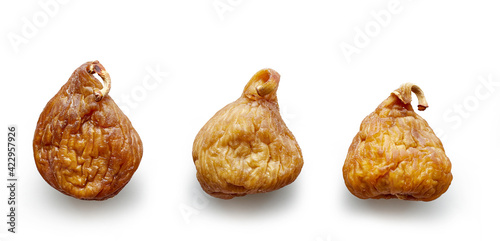 Foto various dried figs