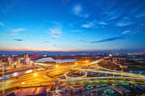 Obraz na płótnie Huangjiahu overpass