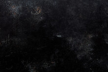 Black, Scratched And Old Metal Texture Background