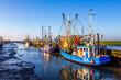 canvas print picture - Fischereihafen, Wremen, Nordsee, Deutschland