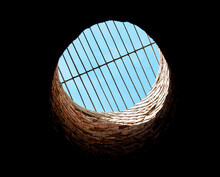 Abstract View Out Of Well