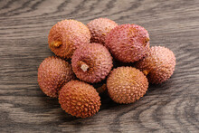 Tropical Sweet Exotic Fruit Lychee
