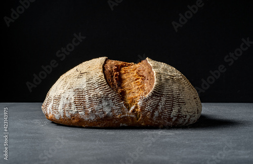 Foto bread on a board