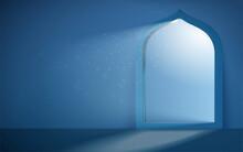 3d Serene Islam Mosque Portal