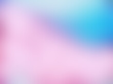 Abstract Pink Blue Pastel Background With Bokeh