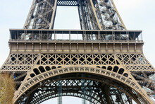 Part Of The Eiffel Tower