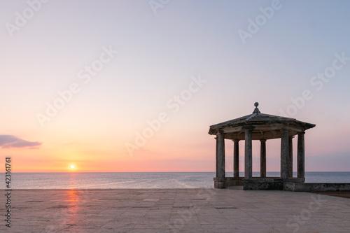 Canvas Print viewpoint in S'Agaro, Playa de Aro (Costa Brava), Catalonia, Spain