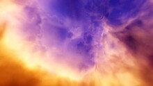 Abstract Background For Design, Space Abstraction, Starry Cosmic Backround, Star Background, Galactic Background 3d Render