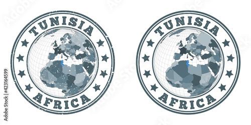 Photographie Tunisia round logos