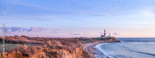 Fotografie, Obraz Montauk Point Light, Lighthouse, Long Island, New York, Suffolk County