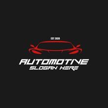 Car Automotive Modern Futuristic Logo Design Vector