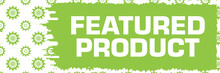 Featured Product Green Gears Scratch Background Horizontal