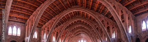 Wine Cathedral, PInell de Brai Village, Terres de l'Ebre, Tarragona, Catalonia, Spain