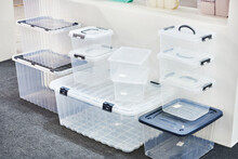 Household Plastic Storage Containers